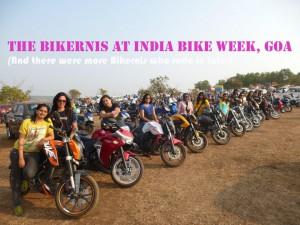 Bikernis at India Bike Week, Goa