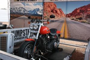 Test ride a Harley