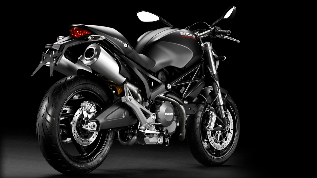 your first ducati monster 696