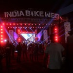 India bike week 2015 music stand